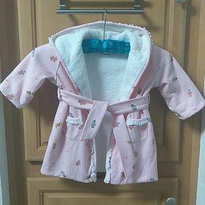 Other - Ralph Lauren polo baby girl teddy bathrobe.